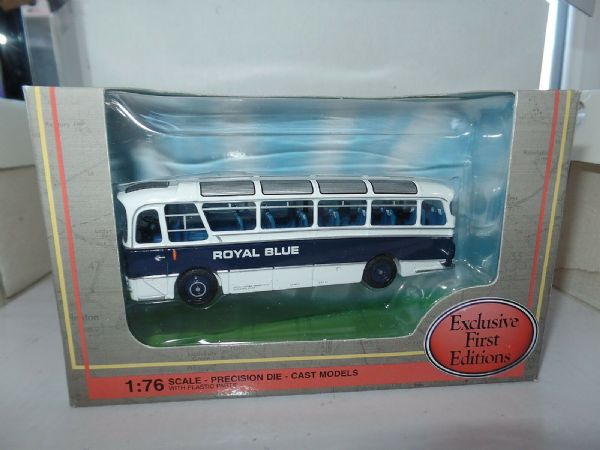 EFE 12119 Harrington Cavalier Coach  Royal Blue Yeovil Subscribers
